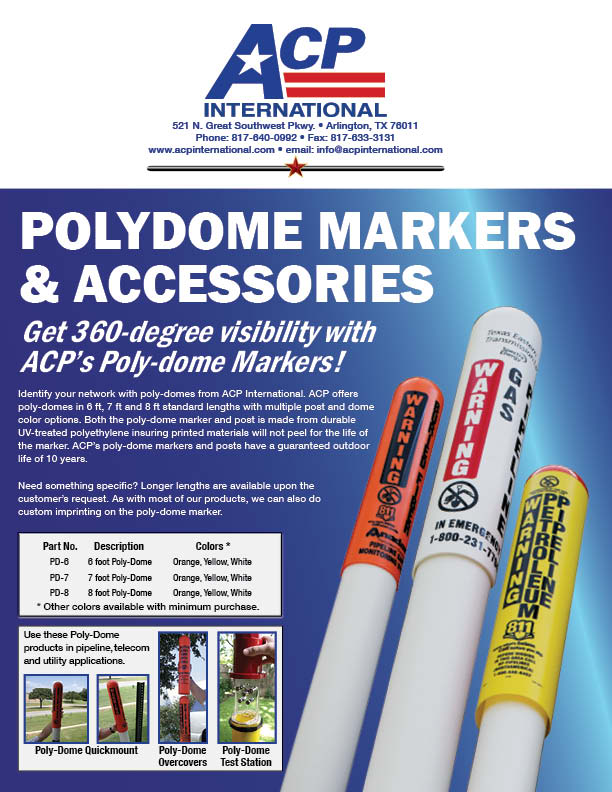 Poly Dome Markers And Test Stations Acp International