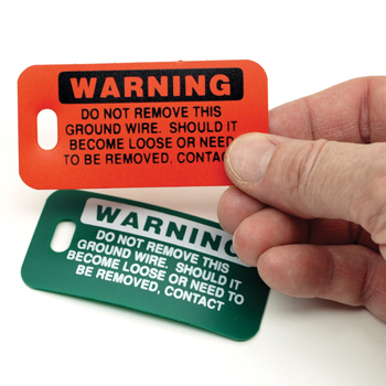 Ground Wire Tags