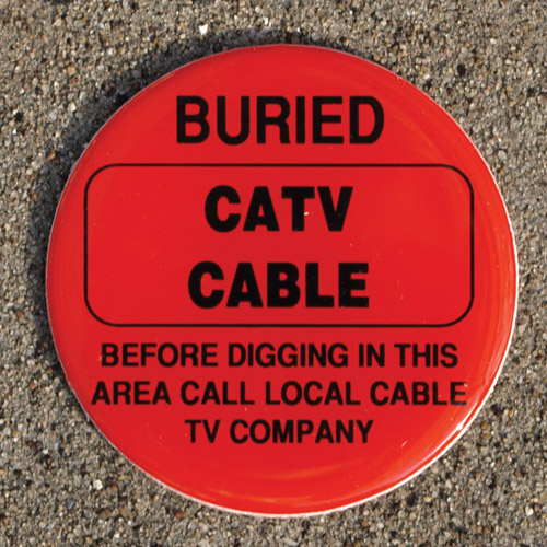 buried catv cable