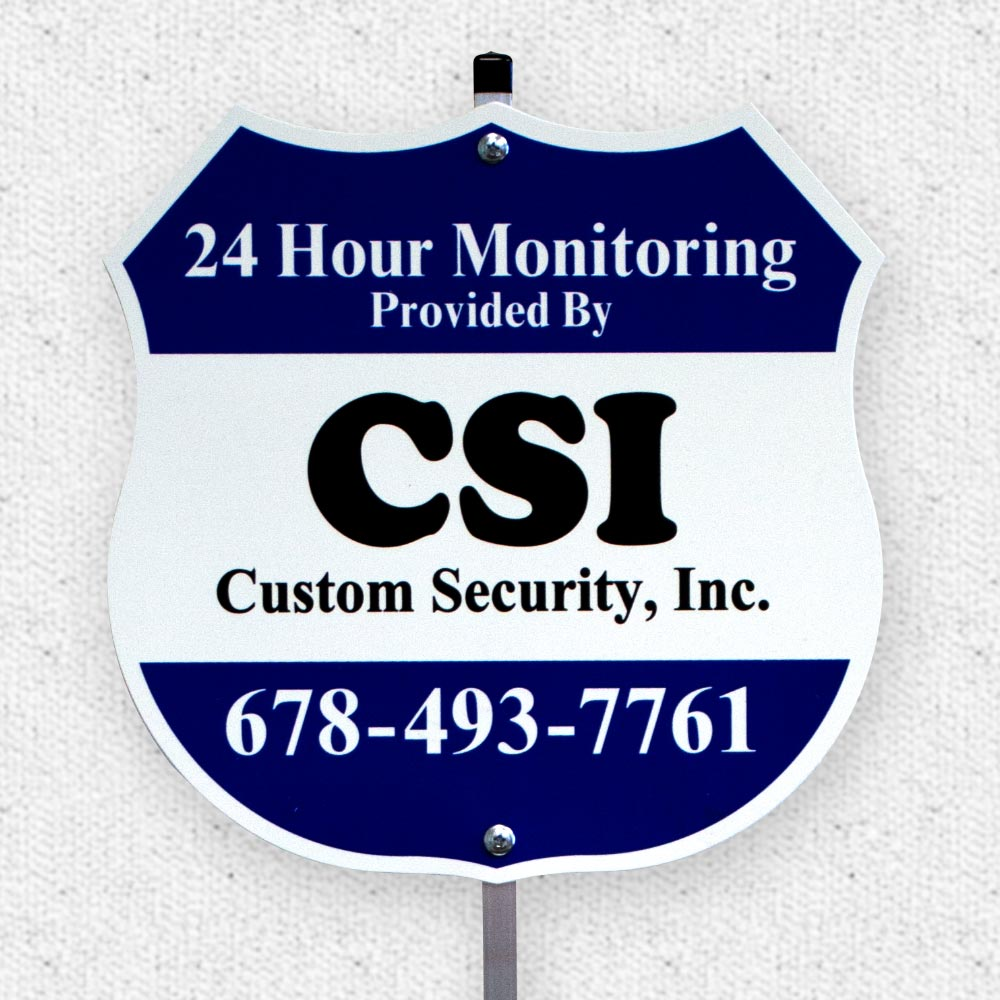 Security Signs Amp Decals Acp International