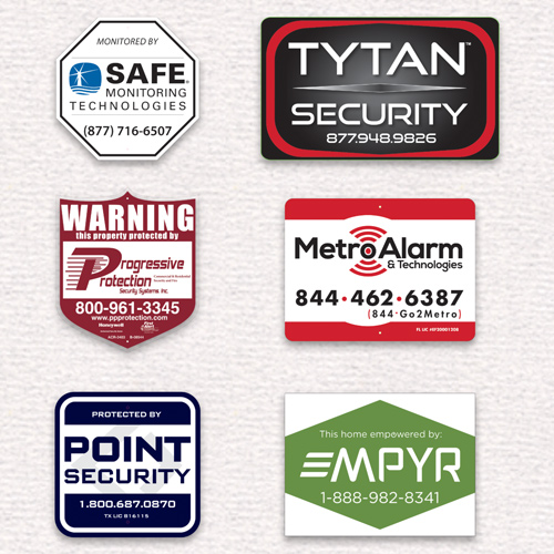 security decals 500