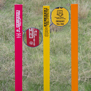 Flexible Line Markers
